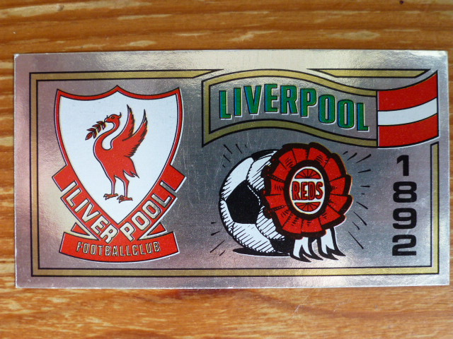 Panini Football 83 - Liverpool Badge