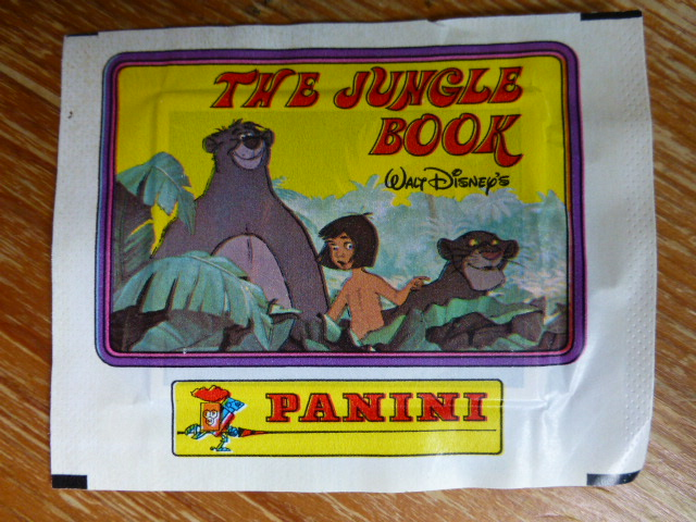 Panini Jungle Book Sticker Pack