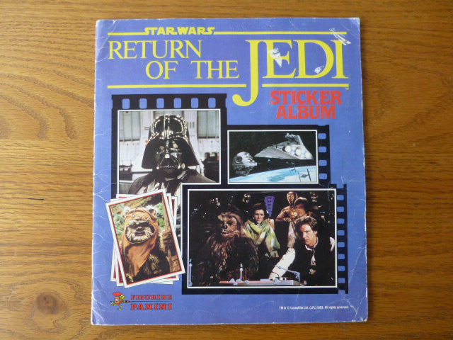 Panini Return Of The Jedi - Complete Album (01)