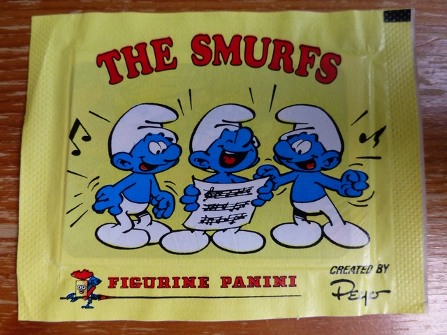 Panini Smurfs Sticker Pack